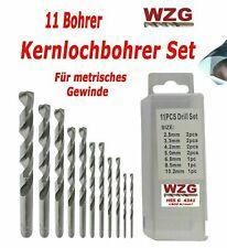 HSS-TiN Bohrer titannitriert Spiralbohrer Bohrer Stahlbohrer Metallbohrer Eisenbohrer /Ø 6,0 mm 5 St/ück