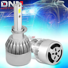 2 IN 1 6000K WHITE LED H1 HEADLIGHT FRONT LAMP BULBS WITH FAN LIGHTING SYSTEM