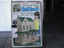 "Country Manor Wood Dream Dollhouse KIT 703 UNUSED 1""-1' Scale NEW"