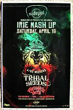 TRIBAL SEEDS 2015 Gig POSTER Reggae Salt Lake City Concert Utah