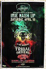TRIBAL SEEDS 2015 Gig POSTER Reggae Salt Lake City Concert Utah