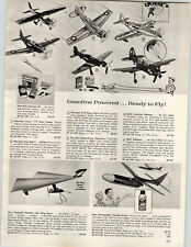 1964 PAPER AD Giolbert Toy Wing Thing Hang Glider Stromberger Auto Car Race Set