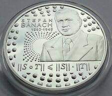 2012 Poland Polen 10 zl zlotych Silver 925 STEFAN BANACH
