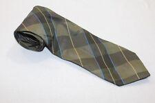 KR2020 Monti  Krawatte  grün, blau glänzend gestreift
