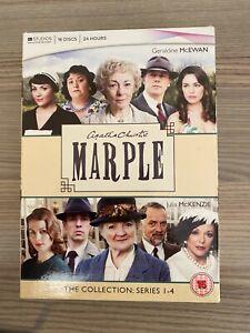 Agatha Christie's Marple - Series 1-4 - Complete (DVD, 2010, 16-Disc Set,