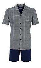 Ringella Pyjama kurz Größe XL Schlafanzug Shorty grau gestreift