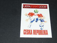 N°72 MASCOTTES CESKA REPUBLIKA CESKO TCHEQUIE PANINI FOOTBALL UEFA EURO 2008