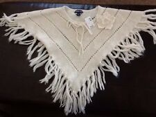 Nwt Limited Too size S/10 cream colored knit cape