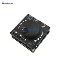 AP50L Bluetooth 5.0 Audio Digital Power Amplifier 50WX2 Stereo Board AUX 12V 24V