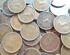 100 COINS LOT - 1950 1951 1952 1953 1954 - HORSE PICE Mixed - india