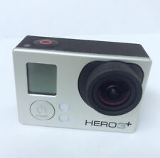 Used GoPro HERO 3+ Plus Silver 1080P HD Sport Action Camera Camcorder Wi-Fi USA