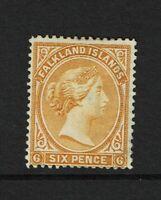 Falkland Islands SG# 33, Mint No Gum, Hinge Remnant, wmk upright - S6293