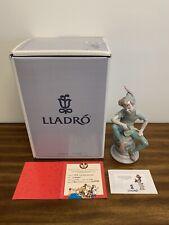 Lladro 7529 Limited Edition Disney #1574/2000 Peter Pan~Coa & Signed Item