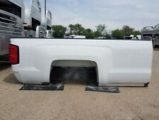 """2015 & Up Chevy 2500 SRW 8'6"""" New Take Off Pickup Bed, White"""