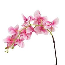 PArtificial Butterfly Orchid Silk Flower Bouquet Phalaenopsis Wedding Home Decor
