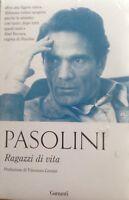 Ragazzi d Vita Pier Paolo Pasolini Nuovo Libro Edito Garzanti Brossura Come Foto