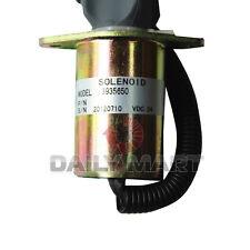 NEW Cummins 3935650 Flameout Diesel Fuel Shut Down Stop Solenoid 24V
