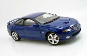 1:18 2006 Pontiac GTO Coupe Impulse Blue LHD (aka Holden Monaro export)