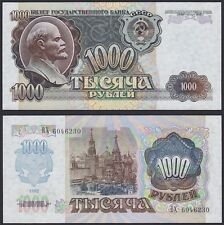 Russia 1000 Rubles 1992 Pick 250 UNC