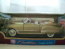 YAT MING ROAD LEGENDS 1949 CADILLAC DOUPE DE VILLE CONVERTIBLE 1/18  DIECAST