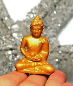 Miniature Gold Thai Buddha Gift Decorative Ornament Namaste