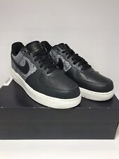 hot sales 92ab1 82041 Nike Mens Size 11.5 Air Force 1 07 LV8 Python Shoes Mens Black New