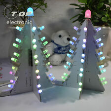 DIY Light Control Full Color LED Big Size Christmas Tree Tower Easy To Make Kit