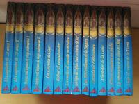 JULIO VERNE COLECCION 14 LIBROS GRANDES TAPA DURA VIAJE AL CENTRO DE LA TIERRA