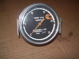 oliver 1750,1755,1800,1850,1855,1950,1955,2050,2150 farm tractor tachometer NICE