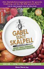 Gabel statt Skalpell: Gesund durch Ernährung auf pf... | Buch | Zustand sehr gut