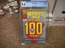 Marvel Age 100 cgc 9.8 Marvel 5/91 1st appearance of Sleepwalker 5 pgs story WHT