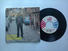 """Ciccio Graziani/Che T'Ha Fatto Sta Roma - Disco Vinile 45 Giri 7""""  Italia 1984"""