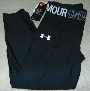 ~NWT Girls UNDER ARMOUR Capri's/Pants! Size YXL Fitted Super Cute:)!