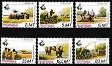 Mosambik - Internationale Jagdausstellung Satz postfrisch 1981 Mi. 816-821