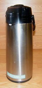 Aladdin Glass-Lined Hot / Cold Stainless Steel Vacuum Insulated Pump Pot Thermos