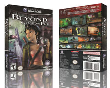 Beyond Good and Evil remplacement Game Cube case + box Art Work Cover no game