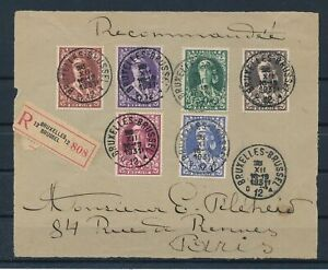 [G11676] Belgium 1931 very nice and fine front of cover