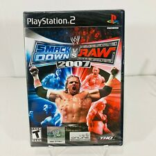 WWE SmackDown vs. Raw 2007 PlayStation 2 PS2 - Brand New!!