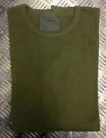 Genuine British Army Olive Cold Weather Thermal Long Sleeve Top - All Sizes