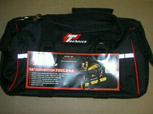 "Technics 16"" Hardbottom Tool Bag - Strong Heavy Duty - PVC Base  PT130016"