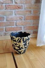 Designer Hand bemalt Topf  Blumentopf Vase Übertopf Vase Blumentöpfe Vasen Neu