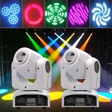 2PC 30W LED Moving Head Gobe Spot Light Pattern DMX-512 Xmas Stage Light 7/10CH