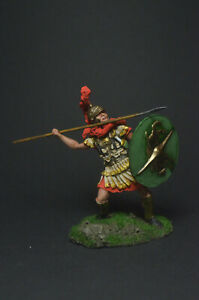 Tin soldier figure Roman tribune 54 mm