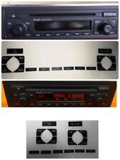 Pegatinas Para Restaurar Radio Concert  Radio Cd Audi A4 B6 B7 RS4 S4 A2 A3 8L