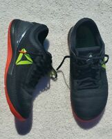 Reebook Nano 8 Mens CrossFit Flexweave Size 8.5 - Black Red Yellow M