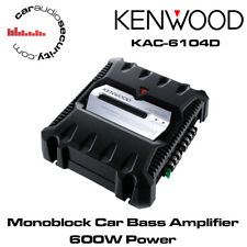 Kenwood KAC-6104D - MONOBLOCCO Digitale AMPLIFICATORE AUTO BASS AMP 600W