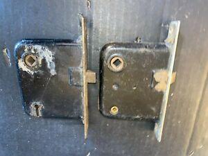 Matching Vintage Mortises Door Lock 2 pcs