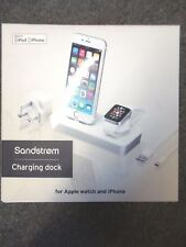 Sandstrom Charging Dock  For Apple watch & Apple iPhone in White