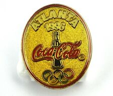 COCA-COLA COKE EE.UU. Solapa Pin PIN BADGE Broche - ATLANTA '96 Olympia