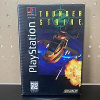 Thunder Strike 2 II - PS1 Playstation - Original Game Long Case Box - Tested